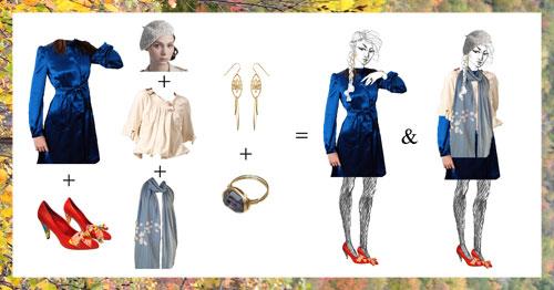 fashion pastiche